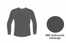 Футболка с длинным рукавом Accapi Tecnosoft Plus JR anthracite/melange 14-15