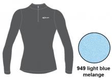 Футболка с длинным рукавом Accapi Tecnosoft Plus 1/2 ZIP LADY light blue/melange 12-13