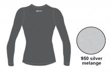 Футболка с длинным рукавом Accapi Tecnosoft Plus LADY silver melange 13-14
