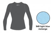Футболка с длинным рукавом Accapi Tecnosoft Plus LADY light blue/melange 13-14