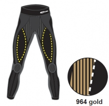 Брюки Accapi X-country TROUSERS MAN gold  14-15
